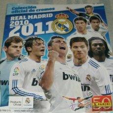 Álbum de fútbol completo: ALBUM REAL MADRID 2010-11 -- NUEVO PRECINTADO --. Lote 25816821