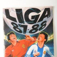 Álbum de fútbol completo: ALBUM DE CROMOS DE FUTBOL DE LA LIGA 87-88, EDICIONES ESTE. Lote 25817556