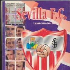 Álbum de fútbol completo: ÁLBUM SEVILLA F.C. TEMPORADA 1996/97. COMPLETO. Lote 25992251