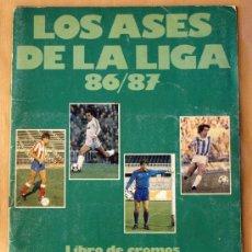 Álbum de fútbol completo: LOS ASES DE LA LIGA 86/87 - ALBUM COMPLETO -. Lote 27543604