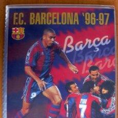 Álbum de fútbol completo: F.C. BARCELONA 96-97 - EDITORIAL PANINI - COMPLETO 125 CROMOS. Lote 37868895