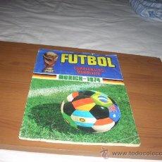 Álbum de fútbol completo: ALBUM DE MUNICH 74 DE RUIZ ROMERO,EL VERDADERO MUY DIFICIL,VISITA MI TIENDA. Lote 26862475