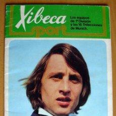 Álbum de fútbol completo: XIBECA SPORT - EQUIPOS 1ª DIVISIÓN Y LAS 16 SELECCIONES DE MUNICH - CERVEZAS DAMM 1973 - COMPLETO. Lote 27237573
