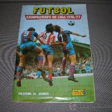 Álbum de fútbol completo: ALBUM FUTBOL CAMPEONATO DE LIGA 1976 / 77 - ALBUM ESTE, COMPLETO !!!! CON TODOS LOS FICHAJES. Lote 97901583