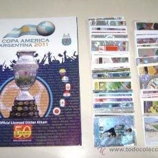 Álbum di calcio completo: ALBUM PANINI COPA AMÉRICA 2011 ARGENTINA - EDITORIAL PANINI - 100% COMPLETO A PEGAR + 1 SOBRE. Lote 266982319