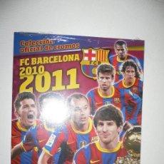 Álbum de fútbol completo: COLECCIÓN OFICIAL DE CROMOS F.C. BARCELONA ALBUM VACÍO PANINI. Lote 27661354