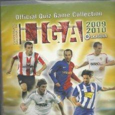 Álbum de fútbol completo: ALBUM DE FUTBOL OFFICIAL QUIZ GAME COLLECTION 2009/2010 CON 663 FICHAS. Lote 27711863