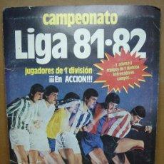 Álbum de fútbol completo: ALBUM CROMOS FUTBOL COMPLETO - EDICIONES ESTE 1981 1982 ¡¡¡ TODO EN FOTOS ¡¡¡ 81 82. Lote 27866507