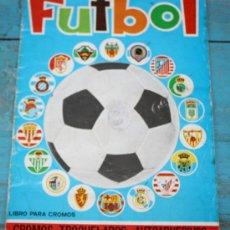 Álbum de fútbol completo: ANTIGUO Y MAGNIFICO ALBUM DE FUTBOL - AÑO 1975 - COMPLETO - CROMOS TROQUELADOS AUTOADHESIVOS - EDITO. Lote 27872047