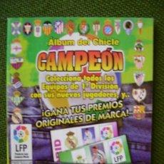 Álbum di calcio completo: ALBUM DEL CHICLE CAMPEON LFP LIGA 96 97 1996 1997 ( CONTIENE 45 CROMOS ). Lote 27931197