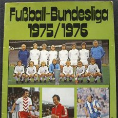 Álbum de fútbol completo: ALBUM DE CROMOS BERGMANN BUNDESLIGA 1975-76 - ALEMANIA - 100% COMPLETO. Lote 27988245