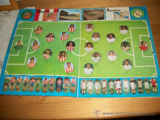 Álbum de fútbol completo: FUTBOL LIGA 75 - 76 ( 1975 - 1976 ) EDITORIAL MAGA COMPLETO ORIGINAL - Foto 2 - 32259107