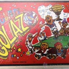 Álbum de fútbol completo: ALBUM CROMOS GOLAZO & SUPLEMENTO NUEVO CON 150 SOBRES CROMOS SIN ABRIR AÑO 1973 EXCELENTE. Lote 28167016