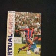 Album de football complet: VIRTUAL CARDS - GOLES MEMORABLES DEL F.C. BARCELONA - COMPLETO (16 CARDS) - EL MUNDO DEPORTIVO - . Lote 28342332