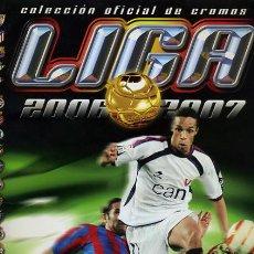 Álbum de fútbol completo: ALBUM FUTBOL LIGA 2006-07, 2006-2007 , EDICIONES ESTE COMPLETO, ORIGINAL, BB. Lote 28379166