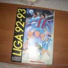 Álbum de fútbol completo: ALBUM DE LA LIGA 1992-93 DE ESTE COMPLETO. Lote 28489636