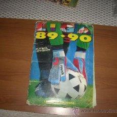 Álbum de fútbol completo: ALBUM DE LA LIGA 1989-90 DE ESTE COMPLETO. Lote 28496963