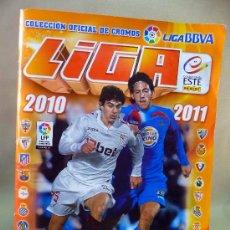 Álbum de fútbol completo: ALBUM DE CROMOS, FUTBOL, LIGA 2010 - 2011, ESTE, COMPLETO. Lote 28575731