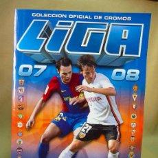 Álbum de fútbol completo: ALBUM DE CROMOS, FUTBOL, LIGA 07 - 08, 2007 - 2008, ESTE, COMPLETO. Lote 28575780