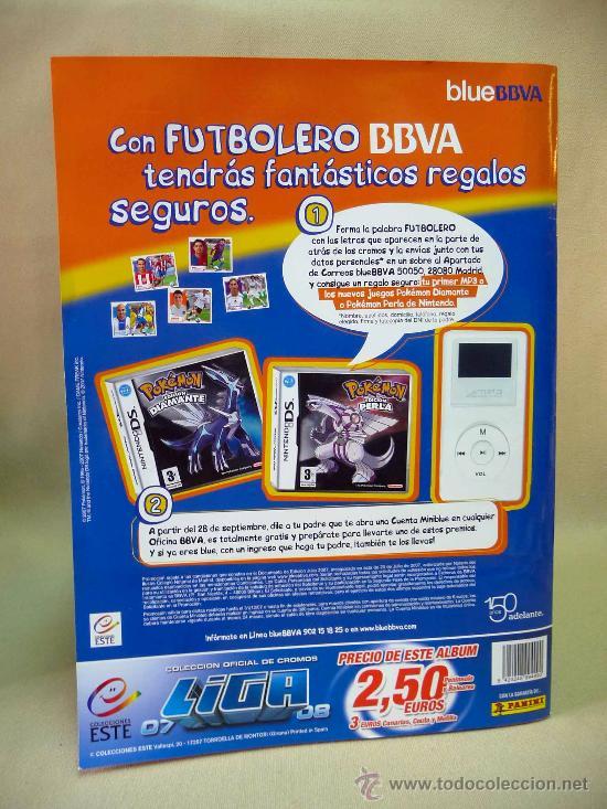 Álbum de fútbol completo: ALBUM DE CROMOS, FUTBOL, LIGA 07 - 08, 2007 - 2008, ESTE, COMPLETO - Foto 2 - 28575780