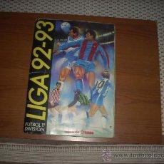 Álbum de fútbol completo: ALBUM DE LA LIGA 1992-93 DE ESTE COMPLETO Y CON 64 CROMOS DOBLES. Lote 28512474