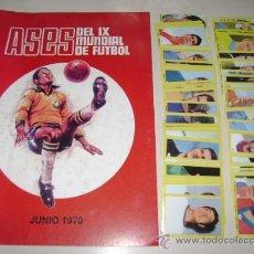Caderneta de futebol completa: ALBUM MUNDIAL MEXICO 70 EDITORIAL EDITORES - 100% COMPLETO A PEGAR. Lote 166646394