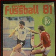 Álbum de fútbol completo: ALBUM PANINI DE FÚTBOL 81. Lote 28669572