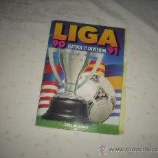 Álbum de fútbol completo: ALBUM DE LA LIGA 1990-91 DE ESTE COMPLETO. Lote 28680491