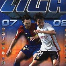 Álbum de fútbol completo: ÁLBUM FÚTBOL, LIGA 2007-2008 ( CON 212 CROMOS PARA PEGAR ) VER IMÁGENES ADICIONALES. Lote 237476370