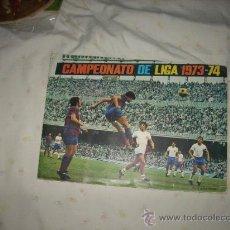 Álbum de fútbol completo: ALBUM DE LA LIGA 1973-74 DE FHER CON EL POSTER COMPLETO Y. Lote 28834490
