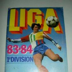 Álbum de fútbol completo: ALBUM CROMOS LIGA FUTBOL EDICIONES ESTE 1983-1984 83-84 NO COMPLETO ALGUNOS CROMOS DESPEGADOS. Lote 28875466