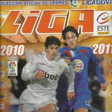 Álbum de fútbol completo: ALBUM DE FUTBOL DE 2010/2011 CON 370 CROMOS. Lote 28972129