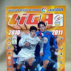 Álbum de fútbol completo: ALBUM, FUTBOL, COLECCION DE CROMOS OFICIAL, LIGA 2010-2011, COLECCIONES ESTE, PANINI . Lote 29132842