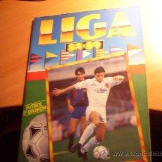 Álbum de fútbol completo: LIGA 88 - 89, 1988 - 1989 ESTE ( ALBUM COMPLETO A FALTA DE 1 CROMO ). Lote 29247240