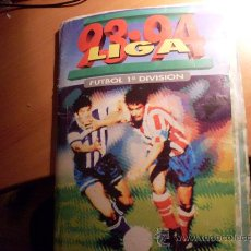 Álbum de fútbol completo: LIGA 93 - 94 , 1993 - 1994 ( ALBUM COMPLETO CON TODOS LOS FICHAJES) (AB-1). Lote 224334645