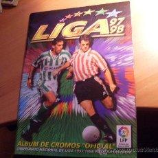 Álbum de fútbol completo: ALBUM COMPLETO CON ULTIMOS FICHAJES .MUCHOS COLOCAS (465 CROMOS ) LIGA 97 98 1997 - 1998 ESTE (AB-1). Lote 29234617