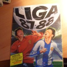 Álbum de fútbol completo: LIGA 87- 88 , 1987 - 1988 ESTE ( ALBUM COMPLETO ) (AB-1). Lote 29246337