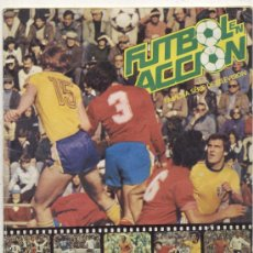 Álbum de fútbol completo: ALBUM FUTBOL EN ACCION // DANONE 82 // FALTAN 2 CROMOS . Lote 29233088