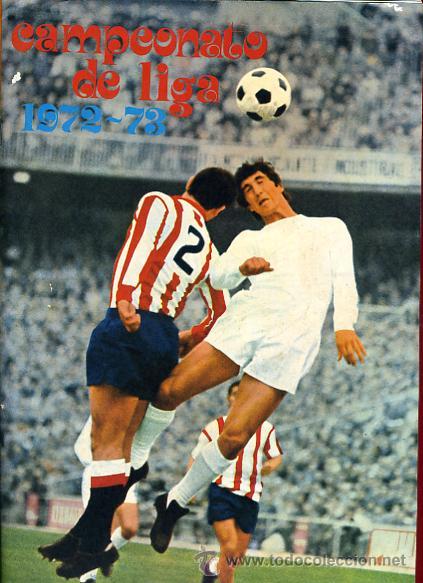 ALBUM FUTBOL , CAMPEONATO LIGA 1972-73 1973 ,DISGRA FHER , DIFICIL, CON POSTER CENTRAL COMPLETO (Coleccionismo Deportivo - Álbumes y Cromos de Deportes - Álbumes de Fútbol Completos)