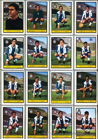 Álbum de fútbol completo: ALBUM FUTBOL , CAMPEONATO LIGA 1972-73 1973 ,DISGRA FHER , DIFICIL, CON POSTER CENTRAL COMPLETO - Foto 11 - 29246097