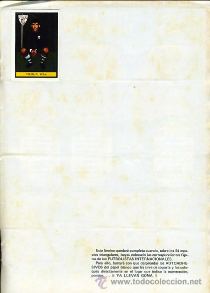 Álbum de fútbol completo: ALBUM FUTBOL , CAMPEONATO LIGA 1972-73 1973 ,DISGRA FHER , DIFICIL, CON POSTER CENTRAL COMPLETO - Foto 12 - 29246097