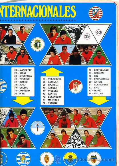 Álbum de fútbol completo: ALBUM FUTBOL , CAMPEONATO LIGA 1972-73 1973 ,DISGRA FHER , DIFICIL, CON POSTER CENTRAL COMPLETO - Foto 14 - 29246097