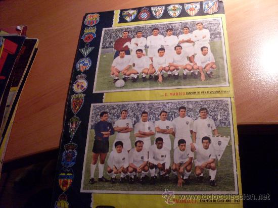 Álbum de fútbol completo: CAMPEONATO DE LIGA 1967 - 1968 , 67 - 68 FHER ( ALBUM COMPLETO + 15 COLOCAS ) (ALB1) - Foto 2 - 29282916