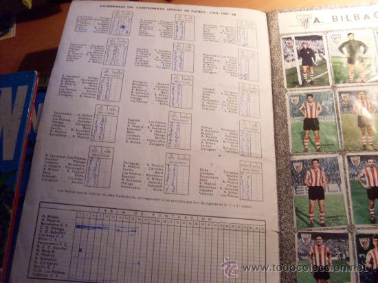 Álbum de fútbol completo: CAMPEONATO DE LIGA 1967 - 1968 , 67 - 68 FHER ( ALBUM COMPLETO + 15 COLOCAS ) (ALB1) - Foto 3 - 29282916