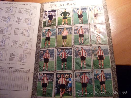 Álbum de fútbol completo: CAMPEONATO DE LIGA 1967 - 1968 , 67 - 68 FHER ( ALBUM COMPLETO + 15 COLOCAS ) (ALB1) - Foto 4 - 29282916