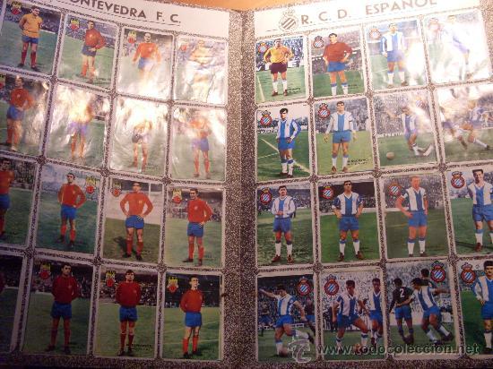 Álbum de fútbol completo: CAMPEONATO DE LIGA 1967 - 1968 , 67 - 68 FHER ( ALBUM COMPLETO + 15 COLOCAS ) (ALB1) - Foto 10 - 29282916