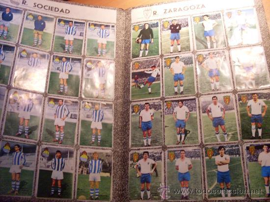 Álbum de fútbol completo: CAMPEONATO DE LIGA 1967 - 1968 , 67 - 68 FHER ( ALBUM COMPLETO + 15 COLOCAS ) (ALB1) - Foto 12 - 29282916