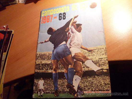 CAMPEONATO DE LIGA 1967 - 1968 , 67 - 68 FHER ( ALBUM COMPLETO + 15 COLOCAS ) (COIB89) (Coleccionismo Deportivo - Álbumes y Cromos de Deportes - Álbumes de Fútbol Completos)