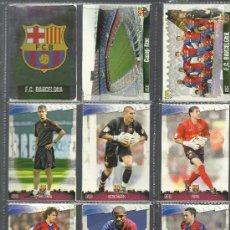 Álbum de fútbol completo: COLECCION DE FICHAS DE LA LIGA DE 2009 CON + DE 280 CROMOS MONTADO EN CARPETA Y EN HOJAS . Lote 29689958