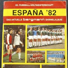 Álbum de fútbol completo: ALBUM DE CROMOS BERGMANN MUNDIAL 82 ESPAÑA 1982 - ALEMANIA - 100% COMPLETO. Lote 29756220